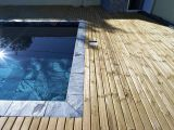 Deck en Pin de 60m2  Etang Sale